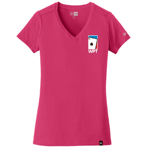 WPT Ladies Weathered V-Neck Tee