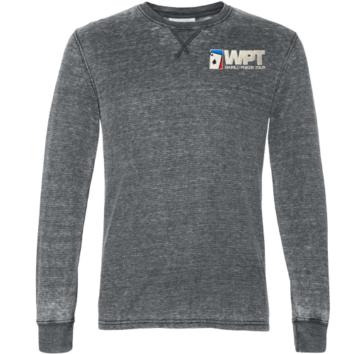 WPT Vintage Long Sleeve Shirt (Dark Smoke)