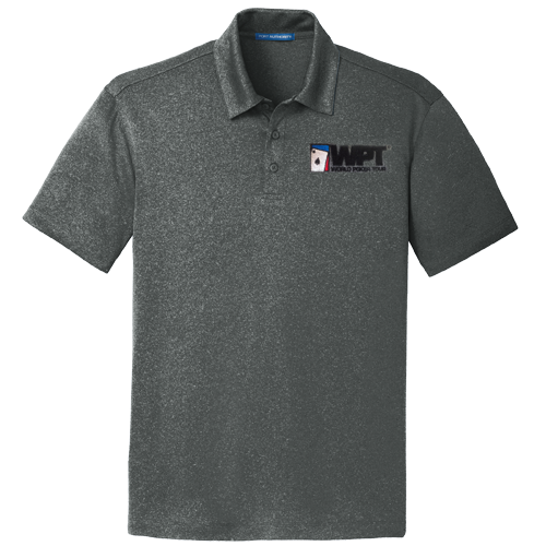WPT Polo Shirt (Charcoal Heather)