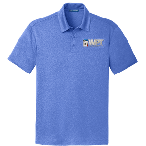 WPT Polo Shirt (Royal Heather)