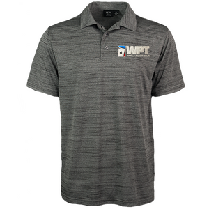 WPT Polo Shirt (Charcoal)