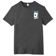WPT Weathered Tee with Spade Logo (Washed Black)