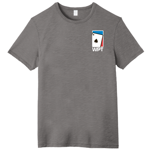 WPT Weathered Tee with Spade Logo (Elephant Grey)