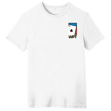 WPT Weathered Tee with Spade Logo (White)