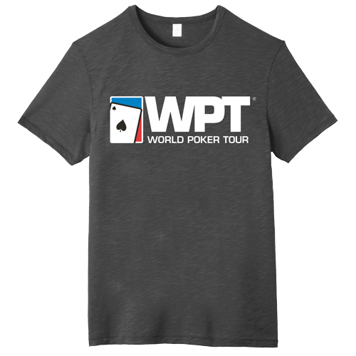 WPT Large Logo Weathered Tee (Washed Black)
