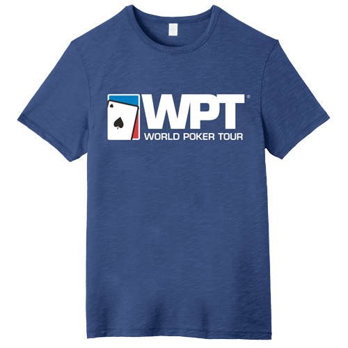 WPT Large Logo Weathered Tee (Royal Blue)