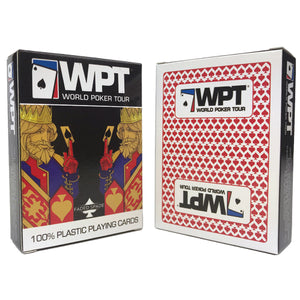 WPT Faded Spade Single Poker Deck (Red)