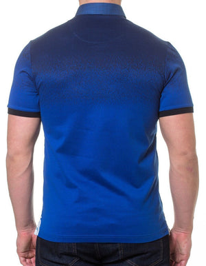 Degrade Navy Men's polo shirt by Maceoo - K T Dezigns, Men's Polo Shirts, product_vendor]