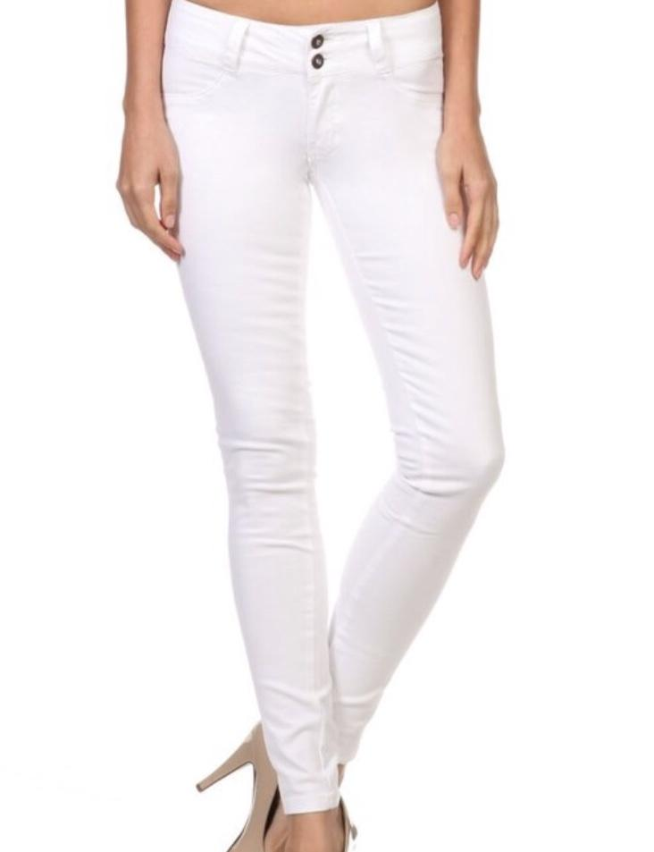 Emperial Skinny White Jeggings - K T Dezigns, Jeggings, product_vendor]