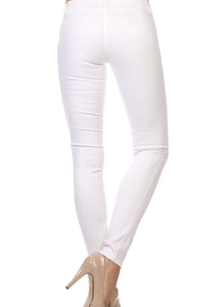 Emperial Skinny White Jeggings - K T Dezigns, White Jeggings, product_vendor]