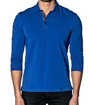 Men's Long Sleeve Polo Shirt by Jared Lang - K T Dezigns, Men's Long Sleeve Polo Shirt, product_vendor]