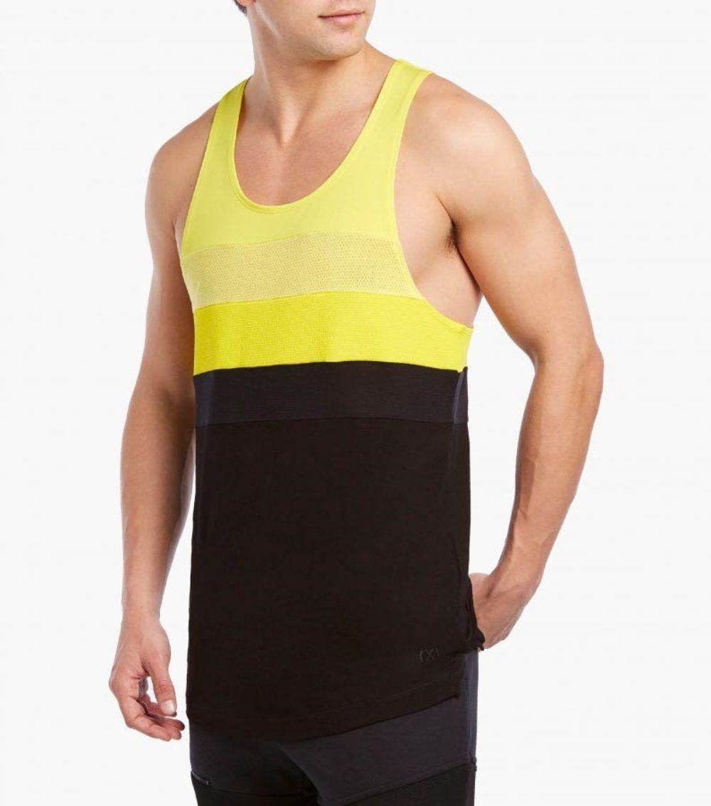 2(X)IST Colorblock Moto Tank Top - K T Dezigns, Men's Tank Tops, product_vendor]