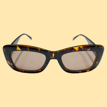 Load image into Gallery viewer, Logo Sunglasses & Case Set - Tortoise Shell