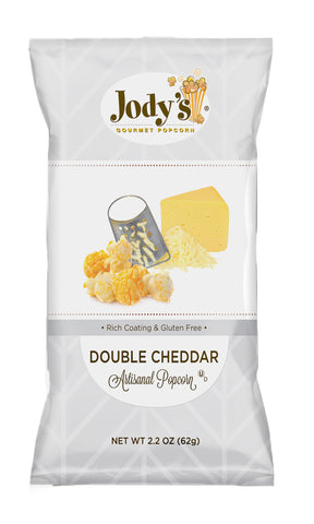 Double Cheddar Regular Foil Bag - 12 Count