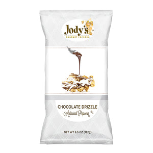 Chocolate Drizzle Foil Bag - 12 Count