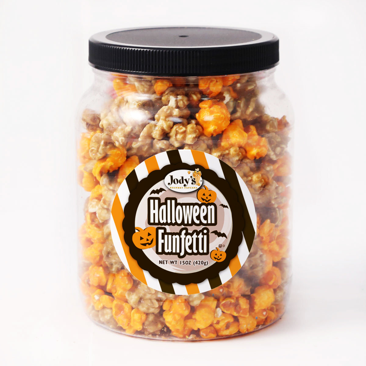 Halloween Funfetti Round Jar - 12 Count