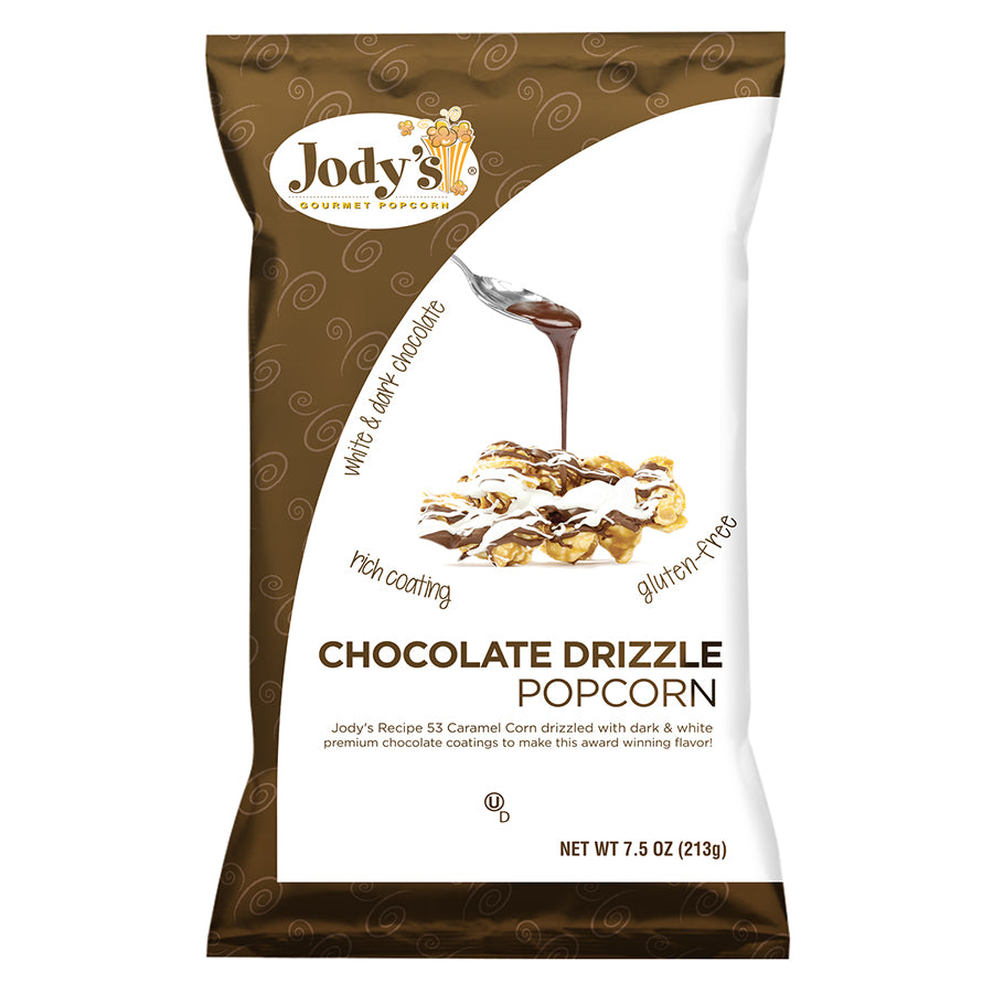 Chocolate Drizzle Grocery Bag - 12 Count