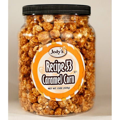 Recipe 53 Caramel Corn Round Jar - 12 Count
