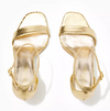 LILLY PULITZER - NATALIE SANDAL GOLD METALLIC