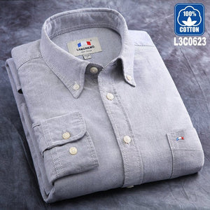 Cotton Solid Men's Casual Shirt