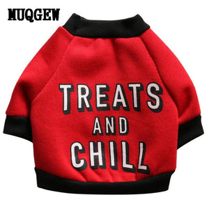 """Treats and Chill"" Dog Vest"