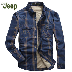 Men Long Sleeve Casual Shirt