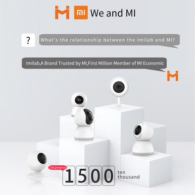 [ International Version ] XIAOMI ChuangMI HD 720P 120 Degree WIFI Smart IP Camera Two Way Audio Baby Monitor