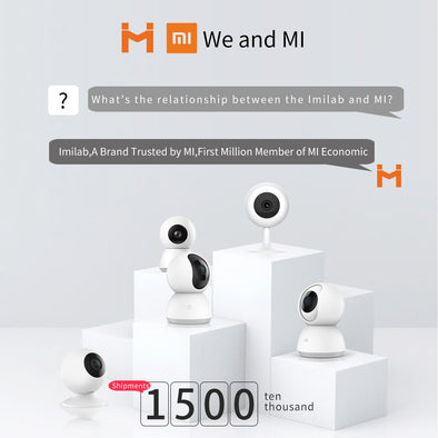 [ International Version ] XIAOMI ChuangMI HD 1080P 120 Degree WIFI Smart IP Camera Two Way Audio Baby Monitor