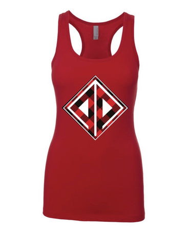 The Spicy LumberJill Tank in Red