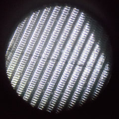 Closeup of a 10 micron screen