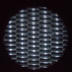 Closeup of a 25 micron filter
