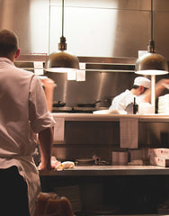 Restaurant kitchen - the pass