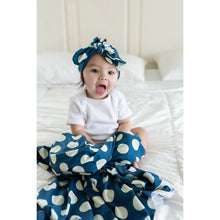 Load image into Gallery viewer, Swaddle Buds- Breathable Stretchy Wraps-Teal Dots