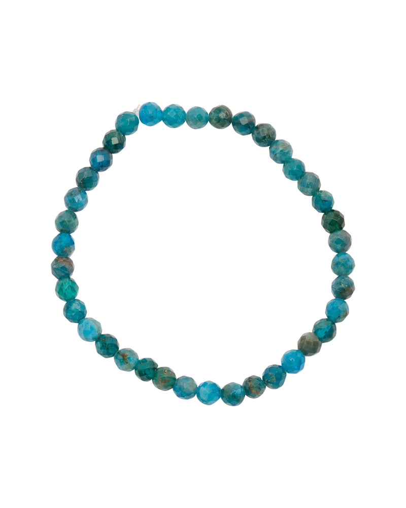 Neon Apatite Faceted