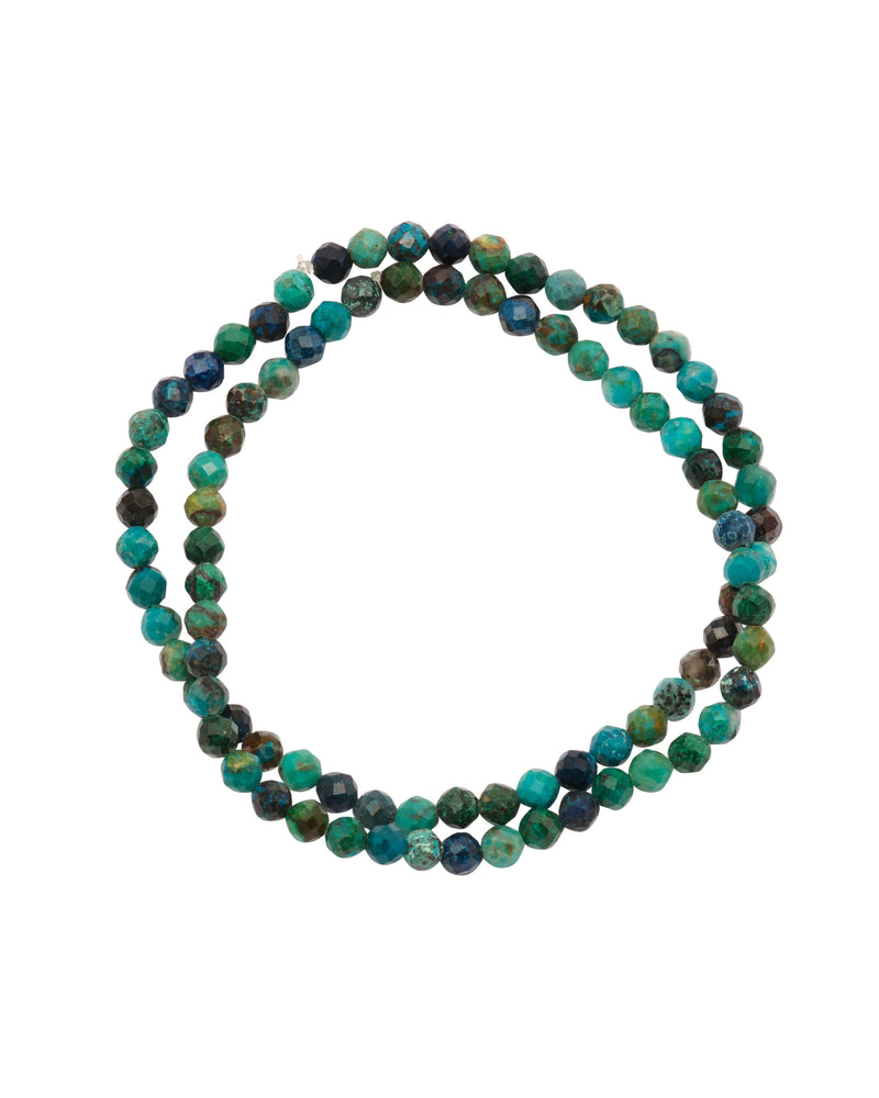 Chrysocolla Faceted Stacked - PRATT DADDY
