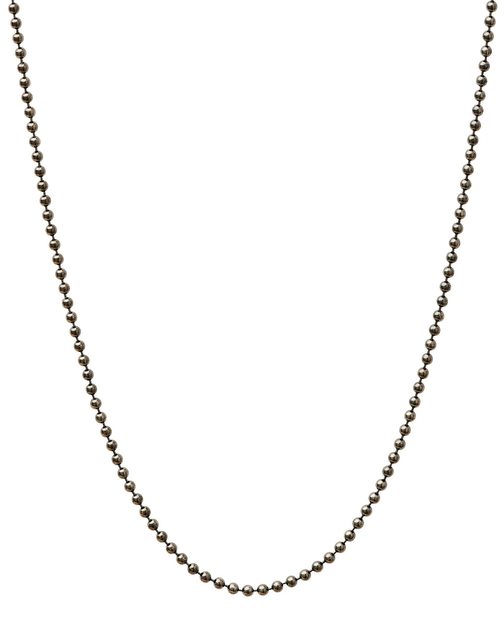 Gunmetal Bead Chain