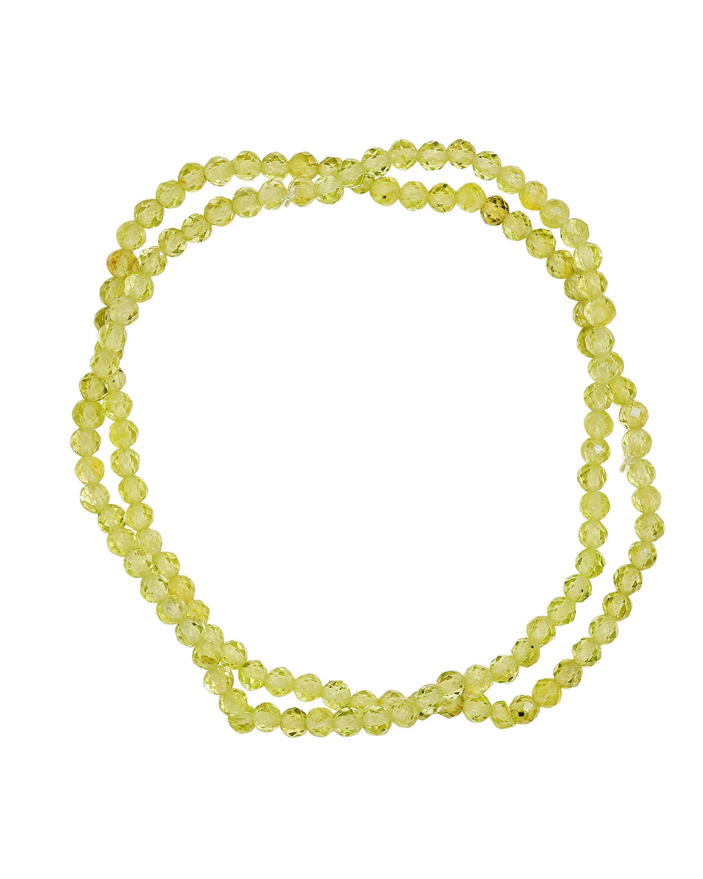 Peridot Faceted Stack