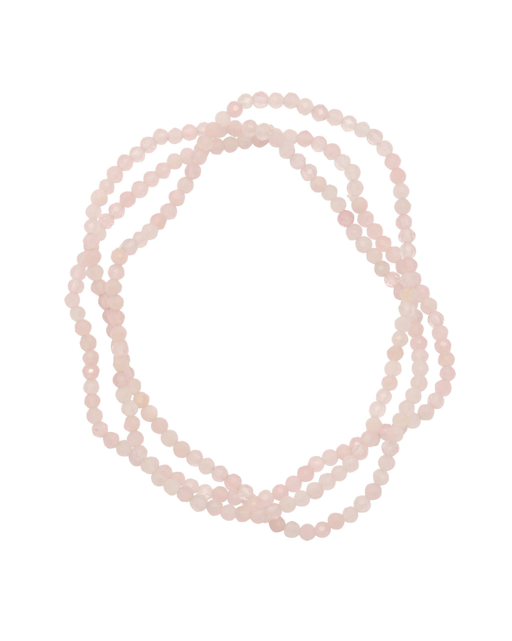Rose Quartz Faceted