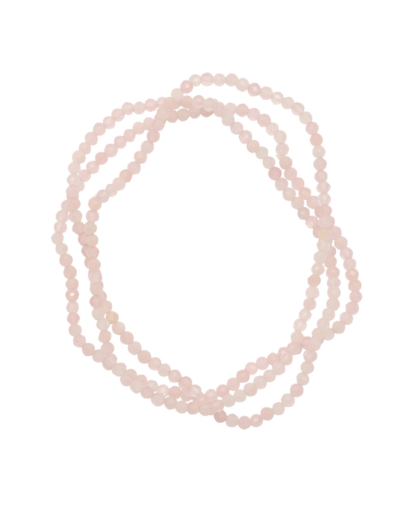 Rose Quartz Faceted - PRATT DADDY