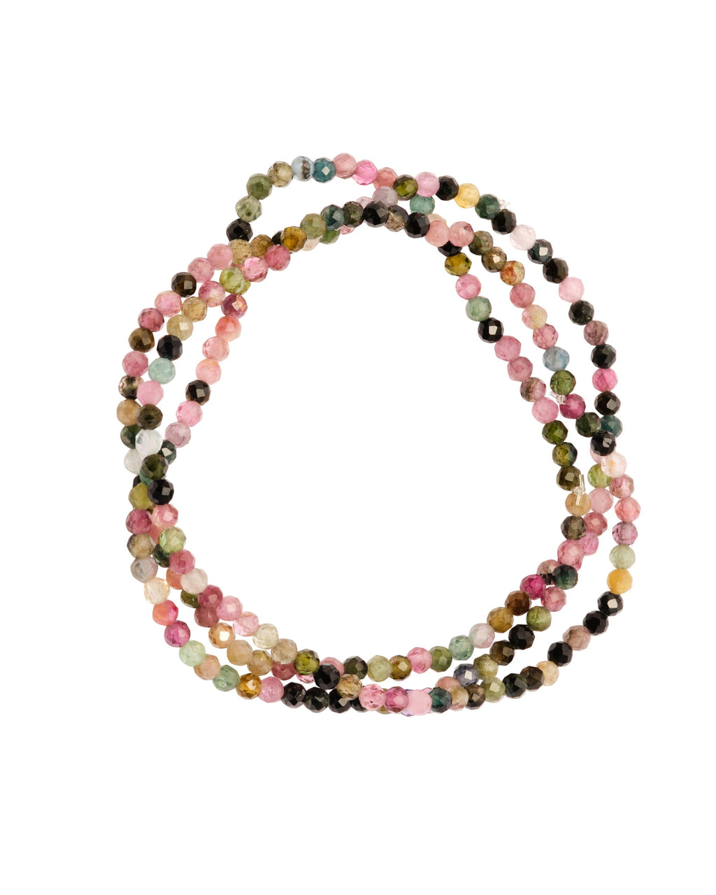 Mixed Tourmaline Faceted Stack - PRATT DADDY