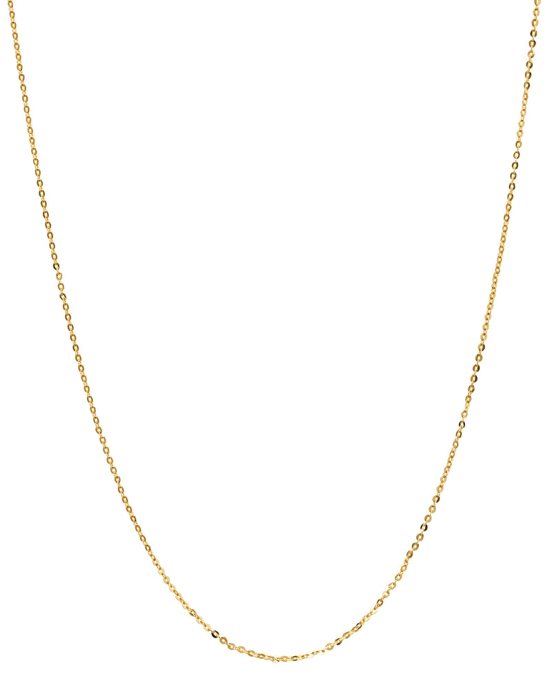 14k Yellow Gold Rolo Chain