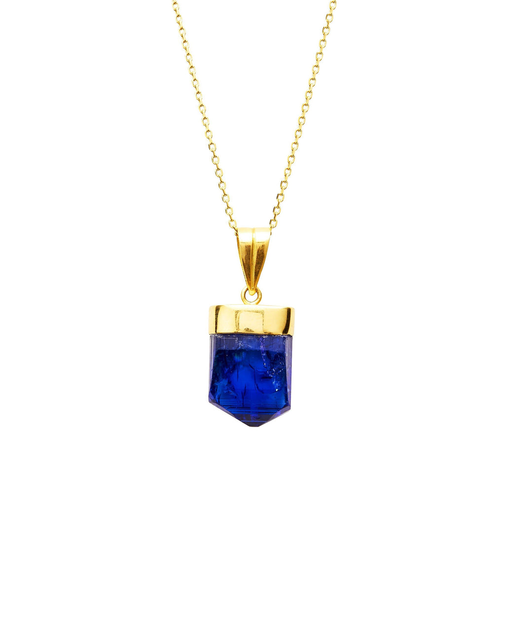 Tanzanite on 18k Gold