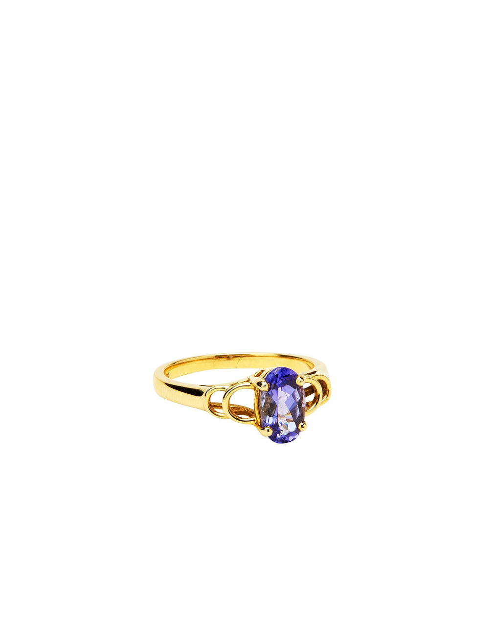 Tanzanite on 14k Yellow Gold