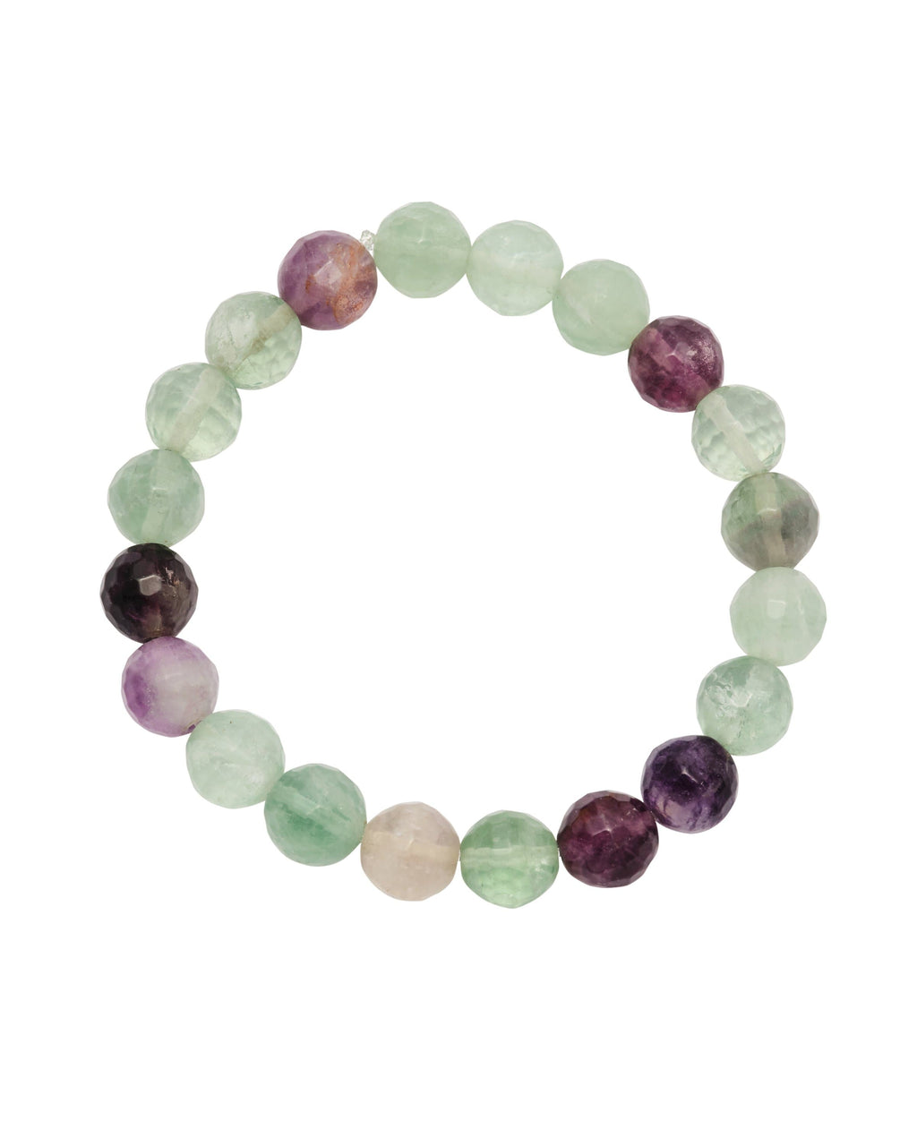 Multi Fluorite Faceted