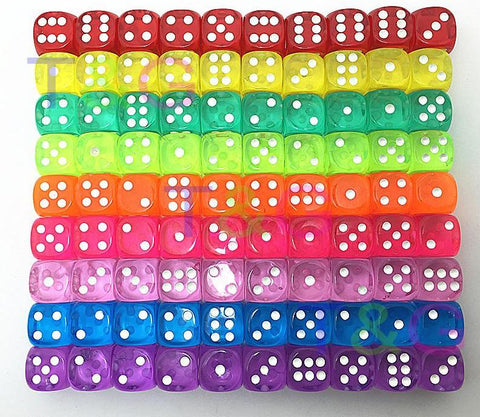 Dice - 10pcs/set