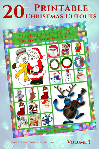 Christmas Printable - Popular Christmas Figures