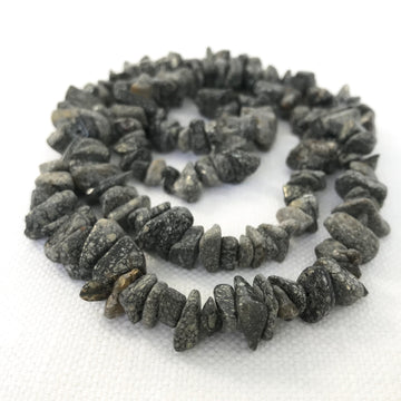 Marcasite Chip Bead Strand (MAR_005)