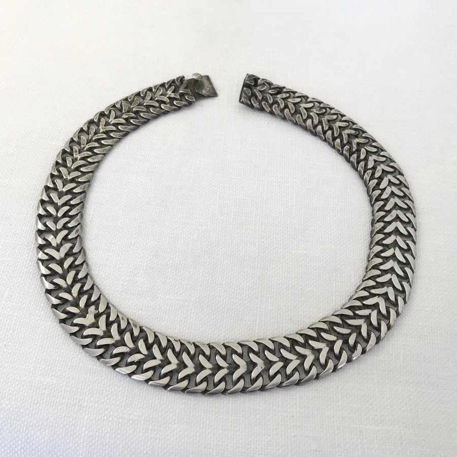 Mexican silver  Necklace (MEX_003j)