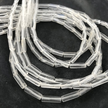 Quartz Tube Bead Strand (QUA_019)