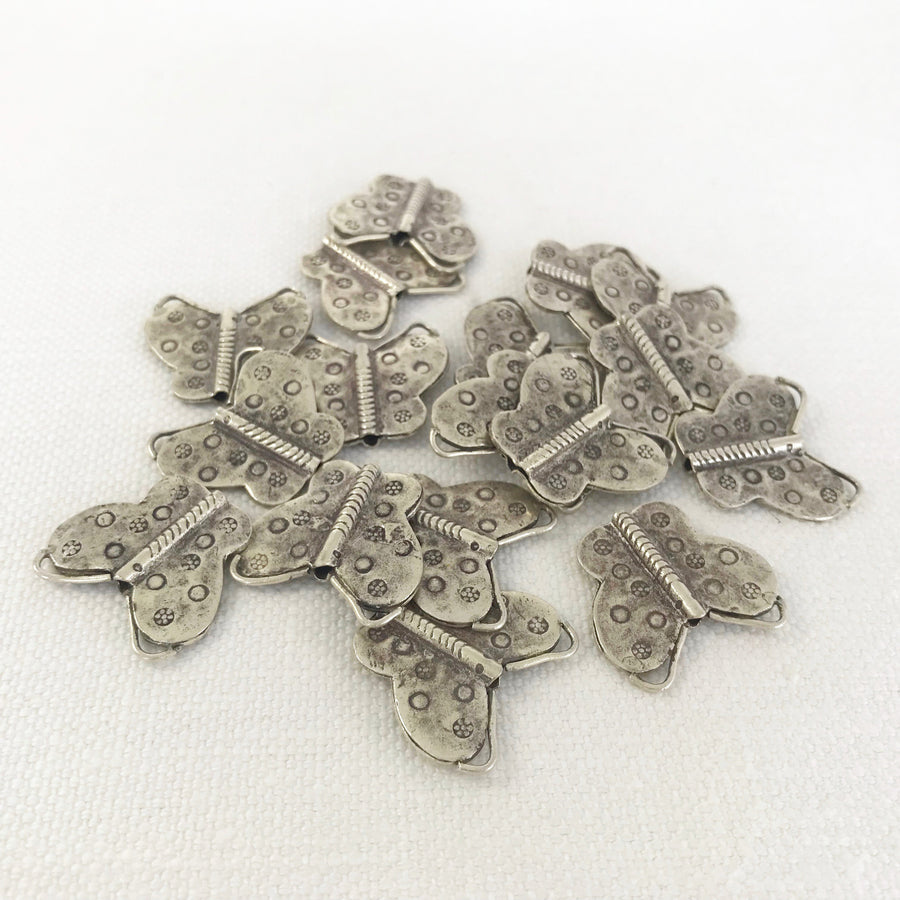 Thai Silver Stamped Unique Shapes Bead (THS_020)